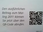 QR-Code aus dem Newsblatt der Mailingtage