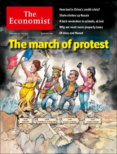 """Cover """"The Ecenomist"""", Ausgabe vom 29. Juni 213"""