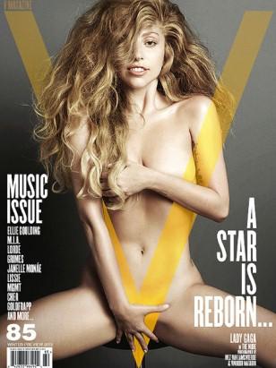 Lady Gaga auf dem Cover des V-Magazine