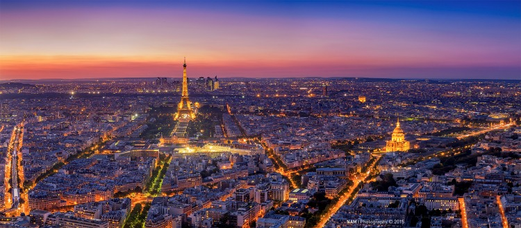 Paris by night - Photo: Nam Ing