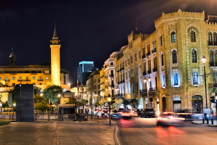 Downtown of Beirut - Photo: Ahmad Moussaoul (CC BY 2.0)