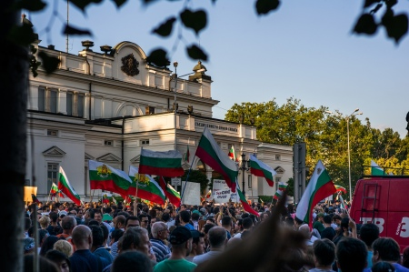 Protests in Bulgaria in 2013; Georgi C - flickr.com  (CC BY 2.0)